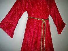 KIDS Size Disney's Mickey Mouse Sorcerer's Robe by ninkey on Etsy maybe in cotton so it is less hot