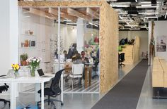 Airbnb's Dublin Offices designed by Heneghan Peng