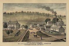 Greencastle, Pennsylvania.  Evaline McLean was born in Greencastle in 1805.