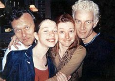 Adorable!  Anthony Head, Michelle Trachtenberg, Alyson Hannigan, James Marsters