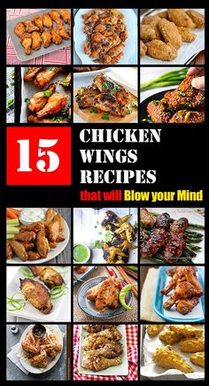 15 Chicken Wings Recipes that Will Blow your Mind | omnivorescookbook.com