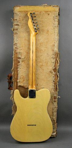 USA 1953 Vintage Fender Telecaster Esquire Blackguard guitar original OHSC
