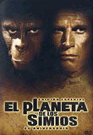 DVD CINE 1570 - El planeta de los simios (1968) EEUU. Dir.: Franklin J. Schaffner. Aventuras. Ciencia ficción. Antropoloxía. Relixión. Sinopse: George Taylor é un astronauta que forma parte da tripulación dunha nave espacial que se estrela nun planeta descoñecido. Moi pronto decatarase que está gobernado por unha raza de simios que esclavizan a uns seres humanos que carecen da facultade de falar. Cando o seu líder, o doutor Zaius, descobre que Taylor posúe o don da palabra, quere eliminalo.