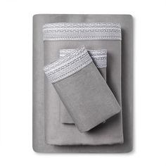 Find product information, ratings and reviews for 100% Linen Sheet Set (Queen) Skyline Gray - Fieldcrest® online on Target.com.