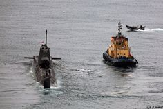 All sizes | Royal Navy Astute-class HMS Astute (S119) departs HM Naval Base, Gibraltar | Flickr - Photo Sharing!