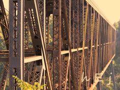 High Bridge, Kentucky. Once the highest bridge over navigable waters.