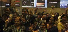 #ISRO #India llega a Marte gracias a la sonda Mangalyaan