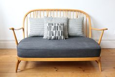 Vintage Ercol Windsor two seater sofa by OwlAndTheElephant on Etsy
