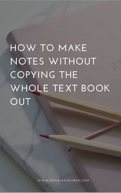 If you've ever sat down to make notes for A-level Chemistry or A-level Biology and ended up just copying the whole book out, this guide will help you avoid doing that and show you how to spend less time making notes. Best Study Tips, Exam Study Tips, School Study Tips, Study Skills, Study Hacks, Study Ideas, School Tips, College Note Taking, College Notes