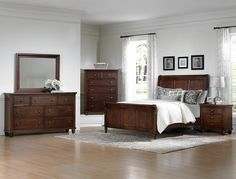 Ellington Queen Bedroom Group by Vaughan Bassett