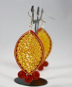 Beautiful Quilling earring