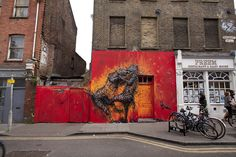 DALeast New Mural In London, UK (Part IV) StreetArtNews