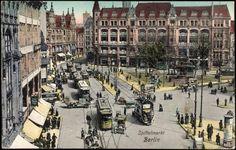 BERLIN 1911, der Spittelmarkt in Berlin-Mitte