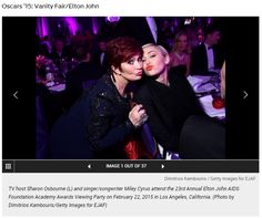 @SharonOsbourne with @MileyCyrus adorned with #VIVAAN #finejewelry at the #Oscars