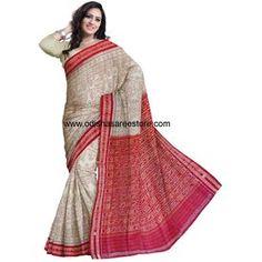 OSS7492: Odisha Saree made in handloom