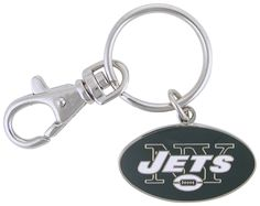 New York Jets Key Chain with clip Keychain NFL - Sunset Key Chains
