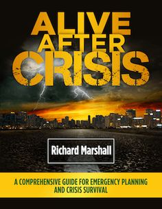 Alive After Crisis: Family Survival Guide The Worst Crisis In U. Unless you've been living in a cave,. Hangover Survival Kit, Best Survival Food, Emergency Preparedness Kit, Emergency Preparation, Survival Prepping, Survival Skills, Survival Gear, Survival Books, California Beach Camping