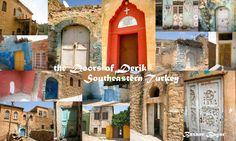 The doors of Derik, Mardin Province Southeastern Turkey