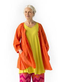 Tunic in lyocell/spandex – Cool favorites – GUDRUN SJÖDÉN – Webshop, mail order and boutiques | Colorful clothes and home textiles in natural materials.