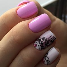 892 Best Two Color Nails Images On Pinterest In 2018 Nail Colors
