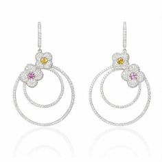 #Sara #Diamond Hoops Made in real Diamond and 18kt yellow & white gold. customize as per style and budget.