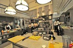 Large Restaurant Kitchen