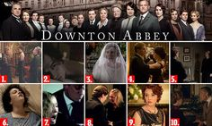 Downton writer JULIAN FELLOWES on his highlights from the five years