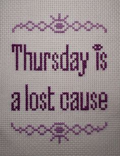 Fuck Yeah Welcome to Night Vale! — nymori: I can't stop cross stitching things...