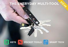 Pivot Modular Multi-Tool • Key Organizer • Key Holder   Keyport
