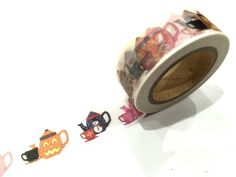1PC NEW Japanese Washi Tape Craft Sticker, Teapots Halloween Christmas Easter in Crafts, Scrapbooking, Adhesives | eBay