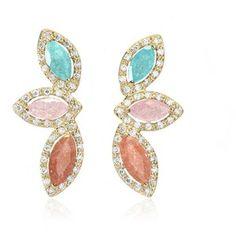Cielle London - Spring Leaves Earrings