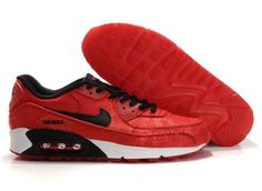 Nike Air Max Chinese Red Black Hook Mens Sneakers