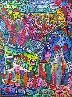 Pop Artist James Rizzi