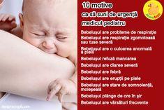 Bebelușul e bolnăvior: 10 motive ca să suni de urgență medicul pediatru