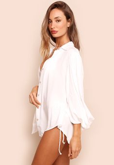 35251 camisa poema off mundo lolita 04 Off White, High Collar Blouse, Bandeau Outfit, Skinny, Neckline, World, Sleeves, Live Life, Dress
