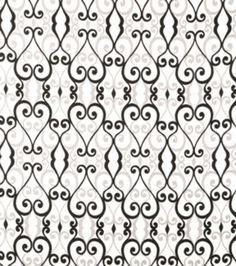 Home Decor Print Fabric-SMC Designs Culver / Onyx at Joann.com