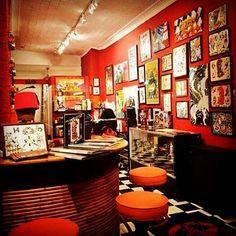 "21 Likes, 1 Comments - G.Julio Lang (@el_chino33) on Instagram: ""Clash#city#tattoo#NYC#best#tattoos#east#village#manhattan#custom"""