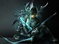 Download 1280x960 Fantasy Women Warrior Wallpaper/Background ID:239894