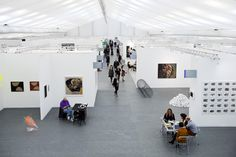 Will autumn art fairs have similar results as spring art fairs, and how will stock market crash in China affect art fairs and the art market ? The Library Of Babel, Frieze London, Cubicle Walls, Frieze Art Fair, Spring Art, White Space, Autumn Art, Street Artists, Magazine Art