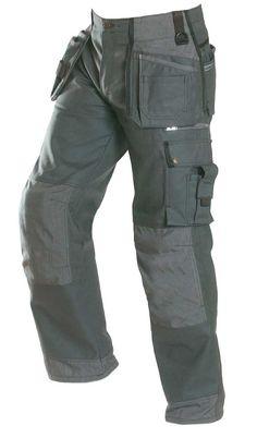 Faceline Workwear Pants - JUBILEE Workwear Collection - products new home - Faceline Workwear_Jubilee Tool Pocket Pants_Grey_by Björnkläder