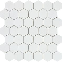 """SKU: TW00015P Material: Marble Size: 12"""" x 12"""" Chip Size: 3/8"""" Thickness: Polished Finish: Mosaic Tiles Product Type: White Color: Thassos White"""
