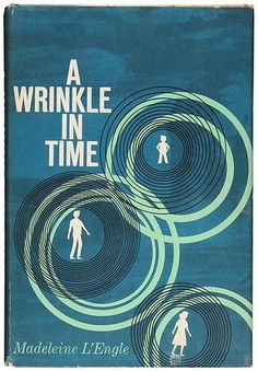 A Wrinkle in Time by Madeleine L'Engle. A science fiction fantasy based on the mlath concept of the tesseract (a fourth dimensional shape) or a wrinkle in time. Written similarly to the style of C. A Wrinkle In Time, This Is A Book, Love Book, Books To Read, My Books, Teen Books, Ella Enchanted, Ya Novels, Fiction Novels