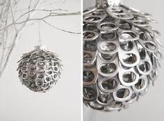 DIY Recycled Pop Tab Ornaments