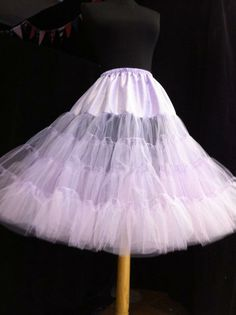 Plain Edged Luxury Custom Made Soft tulle style Petticoat in KNEE length Order your own colours! Petticoats, 1950s Fashion, Color Combinations, Custom Made, Tulle, Ballet Skirt, Girly, Colours, Luxury