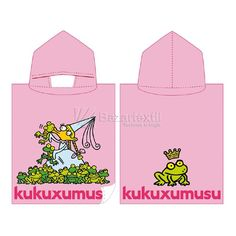Toalla Capucha Girl Kukuxumusu - Bazartextil.com