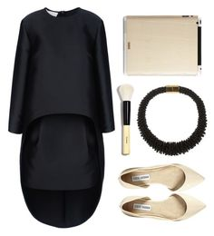 """""""Stella Mccartney Adelia Dress"""" by thestyleartisan ❤ liked on Polyvore featuring STELLA McCARTNEY, Toast, Steve Madden, Emilio Pucci, Bobbi Brown Cosmetics, women's clothing, women, female, woman and misses"""