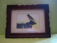 "Framed ""Bluebird"" by Ethel Backenstose print"
