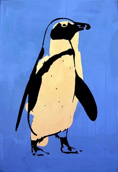 colour block penguin