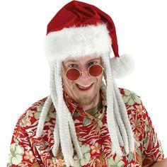 2e831ae0e92 Santa Hat with Dreadlocks Santa Claus Elves