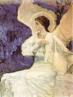 Angel at the Empty Tomb, Mikhail Nesterov, 1911